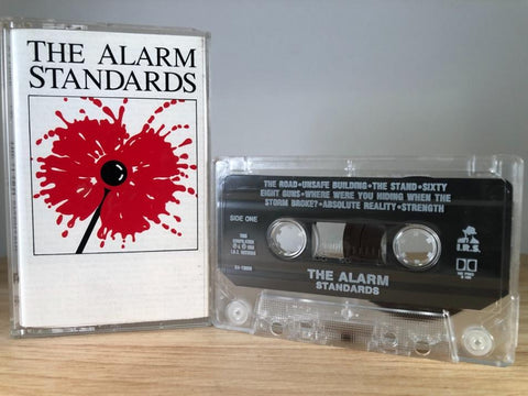 THE ALARM - standards - CASSETTE TAPE