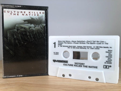 VICTORY - culture killed the native - CASSETTE TAPE
