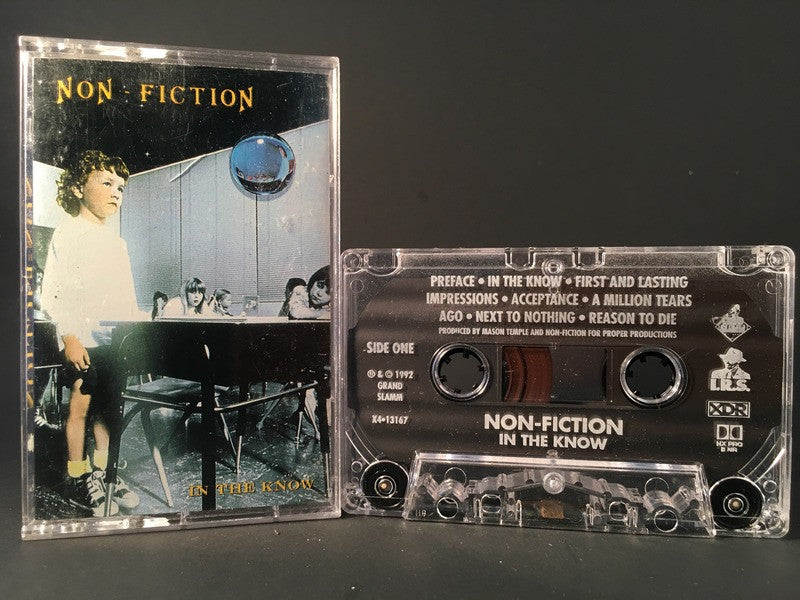 NON-FICTION - in the know - CASSETTE alternative rock
