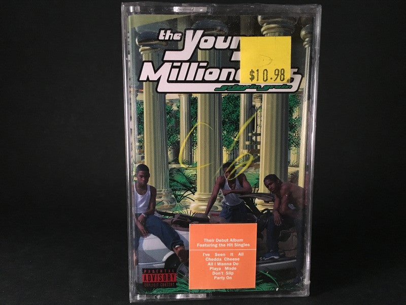 THE YOUNG MILLIONAIRES - grippin grain - BRAND NEW CASSETTE TAPE