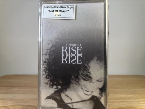 GABRIELLE - rise - BRAND NEW CASSETTE TAPE [made in indonesia]