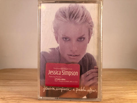 JESSICA SIMPSON - a public affair - BRAND NEW CASSETTE TAPE [made in indonesia]