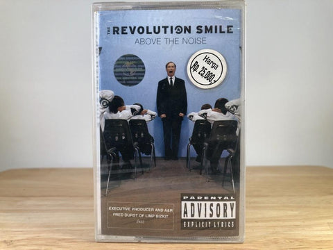 REVOLUTION SMILE - above the noise - BRAND NEW CASSETTE TAPE [made in indonesia]