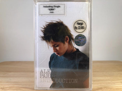 ALEX PARKS - introduction - BRAND NEW CASSETTE TAPE [made in indonesia]