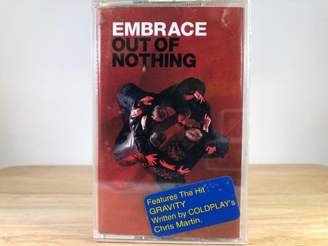 EMBRACE - out of nothing - BRAND NEW CASSETTE TAPE [made in indonesia]