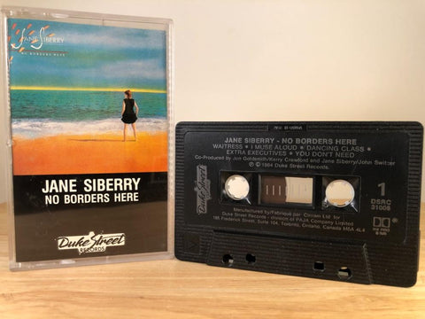 JANE SIBERRY - no borders here - CASSETTE TAPE [made in Canada]