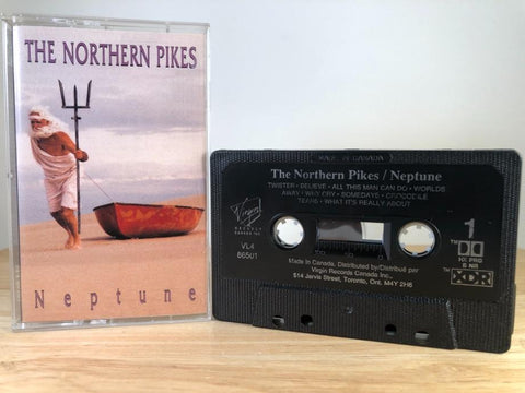 THE NORTHERN PIKES - Neptune - CASSETTE TAPE [made in Canada]