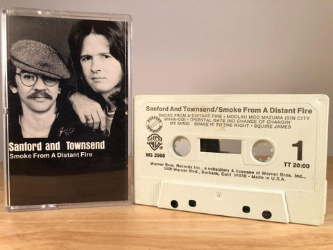 SANFORD AND TOWNSEND - smoke from a distant fire - CASSETTE TAPE