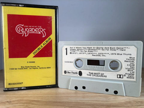 THE CRUSADERS - best of - CASSETTE TAPE