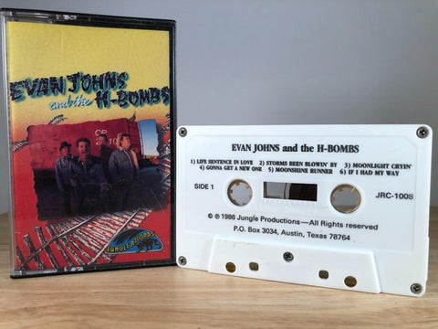 EVAN JOHNS and the H-bombs - s/t - CASSETTE TAPE