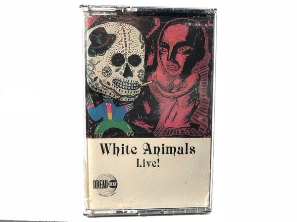 WHITE ANIMALS - live - BRAND NEW CASSETTE TAPE