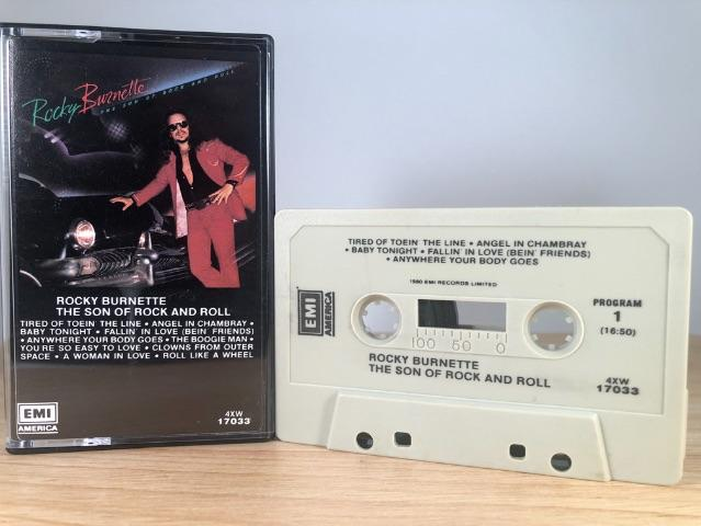 ROCKY BURNETTE - the son of rock and roll - CASSETTE TAPE