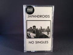JAPANDROIDS - no singles - BRAND NEW SEALED CASSETTE TAPE indie rock