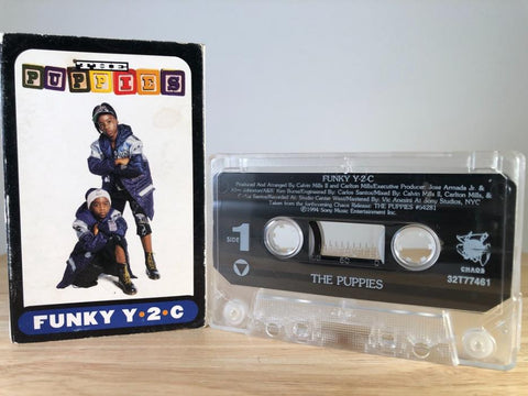 THE PUPPIES - funky Y-2-C [cassingle] - CASSETTE TAPE