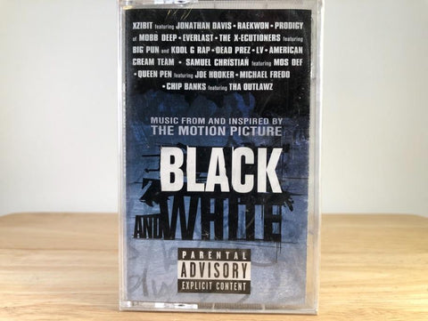 BLACK AND WHITE - soundtrack - BRAND NEW CASSETTE TAPE