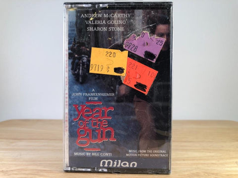 YEAR OF THE GUN - soundtrack - BRAND NEW CASSETTE TAPE