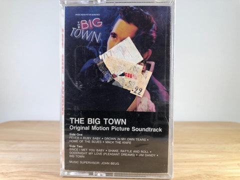 THE BIG TOWN - soundtrack - BRAND NEW CASSETTE TAPE