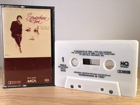 JOHN BARRY: SOMEWHERE IN TIME - soundtrack - CASSETTE TAPE