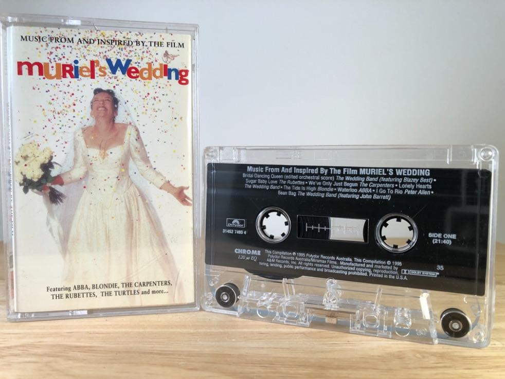 MURIELS WEDDING - soundtrack - CASSETTE TAPE