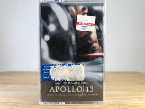 JAMES HORNER: APOLLO 13 - soundtrack - BRAND NEW CASSETTE TAPE