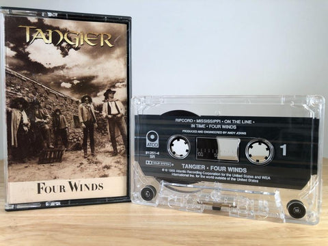 TANGIER - four winds - CASSETTE TAPE