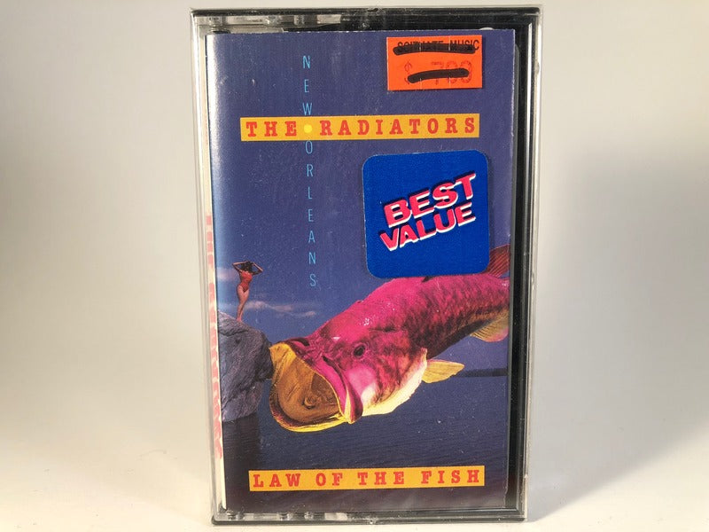 The Radiators – law of the fish - BRAND NEW CASSETTE TAPE - new orleans
