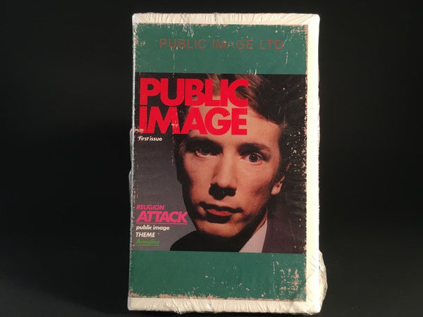 PUBLIC IMAGE LTD - first issue - BRAND NEW CASSETTE TAPE
