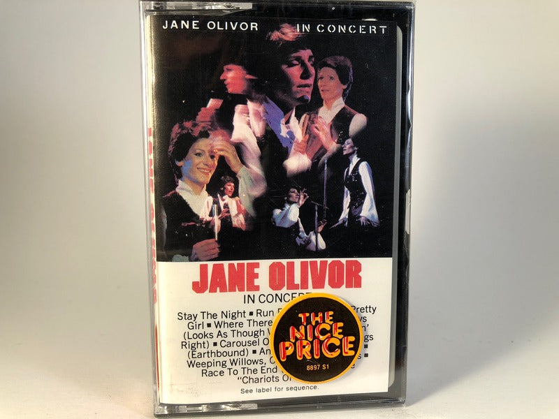 Jane Olivor – In Concert - BRAND NEW CASSETTE TAPE - vocals