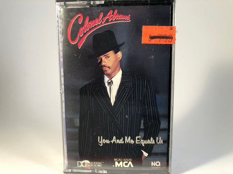 Colonel Abrams – You And Me Equals Us - BRAND NEW CASSETTE TAPE