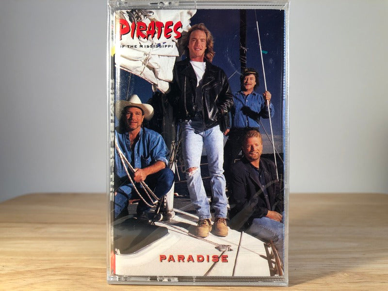 PIRATES OF THE MISSISSIPPI - paradise - BRAND NEW CASSETTE TAPE