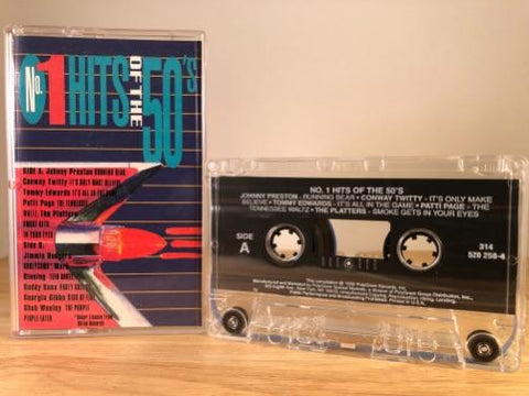 NO.1 HITS OF THE 50'S - various artists - CASSETTE TAPE