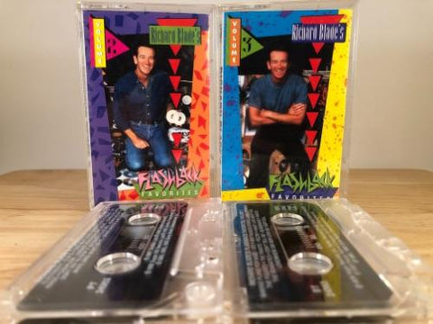 RICHARD BALDE'S - flashback favorites Vol. 2 & 3 - CASSETTE TAPES