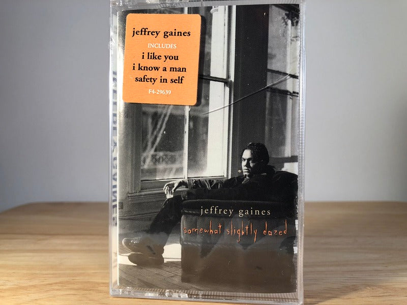 JEFFREY GAINES - somewhat slightly dazed - BRAND NEW CASSETTE TAPE