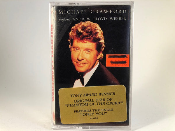 Michael Crawford – Performs Andrew Lloyd Webber - BRAND NEW CASSETTE TAPE - vocals