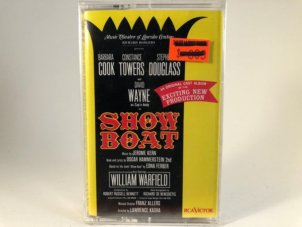 Jerome Kern – Showboat (Music Theater Of Lincoln Center Recording) - BRAND NEW CASSETTE TAPE