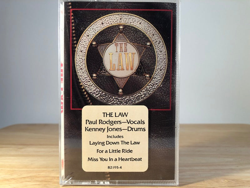 THE LAW - s/t - BRAND NEW CASSETTE TAPE - 3/3