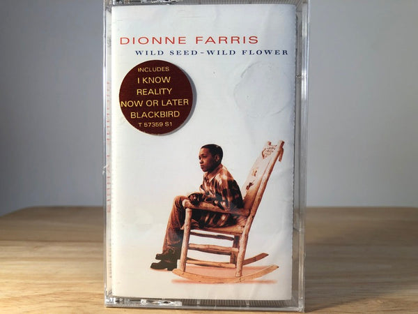 DIONNE FARRIS - wild seed - wild flower - BRAND NEW CASSETTE TAPE