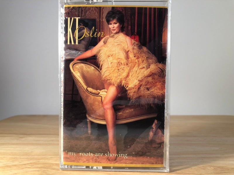KT OSLIN - my roots are showing - BRAND NEW CASSETTE TAPE
