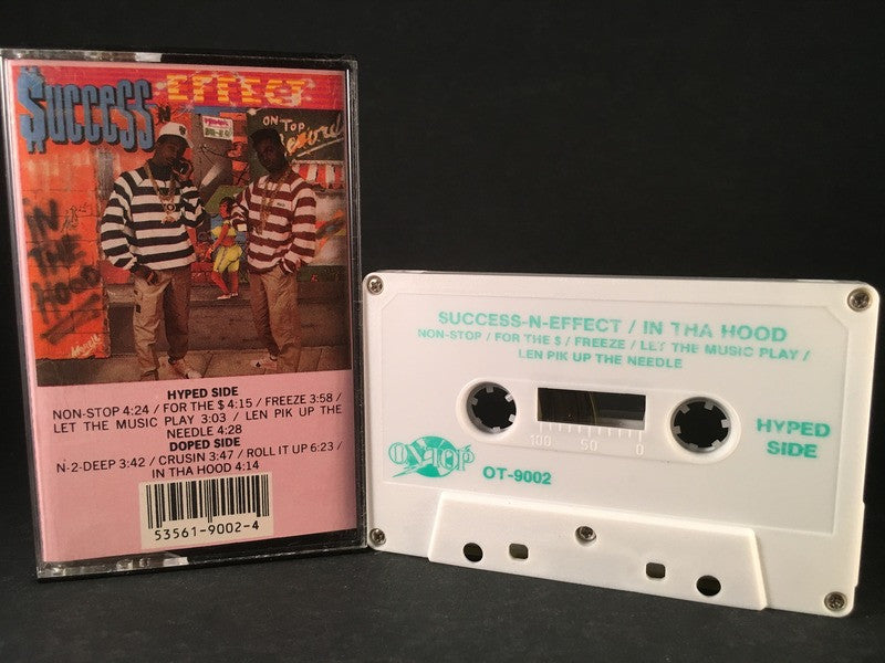 SUCCESS-N-EFFECT - in tha hood - CASSETTE TAPE