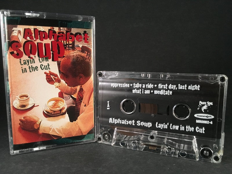 ALPHABET SOUP - layin low in the cut - CASSETTE TAPE
