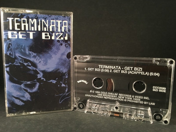 TERMINATA - get bizi (single) CASSETTE TAPE