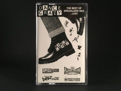 DANCE CRAZY - best of specialized ska LIVE! - CASSETTE TAPE ska