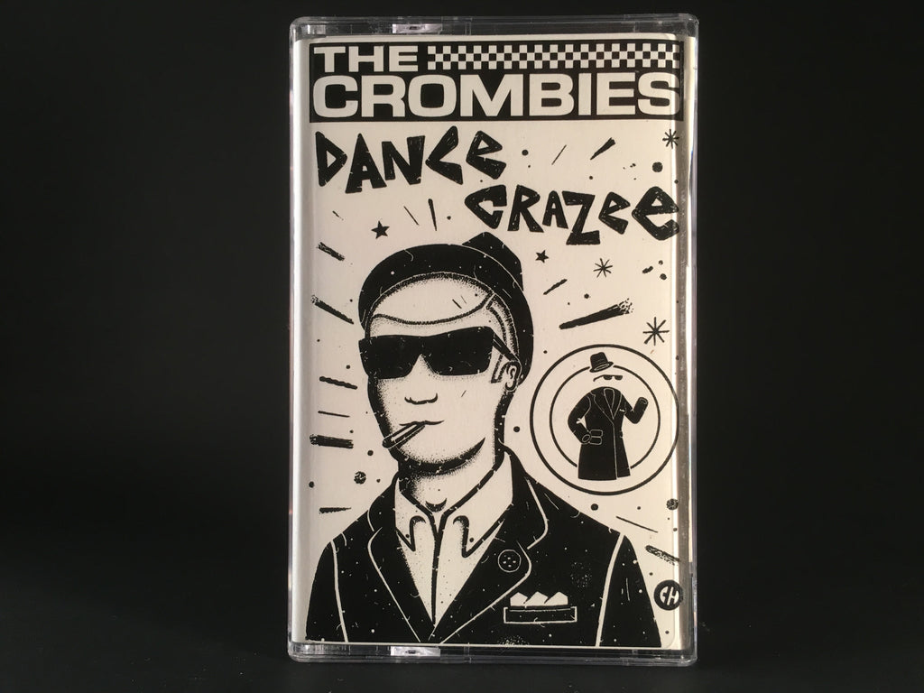 THE CROMBIES - dance crazee - CASSETTE TAPE ska