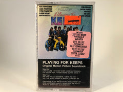 Playing For Keeps (Original Motion Picture Soundtrack)- various artists - BRAND NEW CASSETTE TAPE - pop