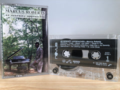 MARCUS ROBERTS - as serenity approaches - CASSETTE TAPE