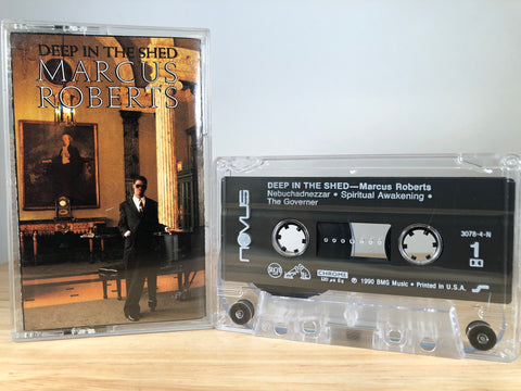 MARCUS ROBERTS - deep on the shed - CASSETTE TAPE