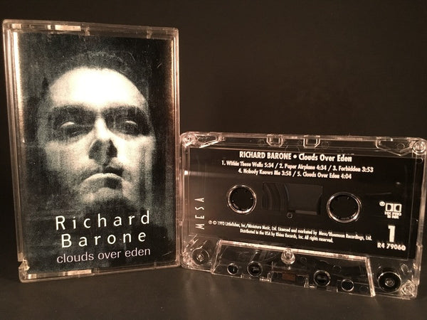 RICHARD BARONE - clouds of eden - CASSETTE TAPE