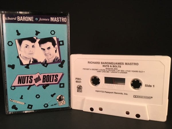 RICHARD BARONE JAMES MASTRO - nuts & bolts - CASSETTE TAPE