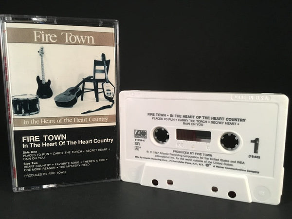 FIRE TOWN - in the heart of the heart county - CASSETTE TAPE