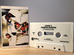 CODE 3 - humpin bumpin' - [cassingle] - CASSETTE TAPE